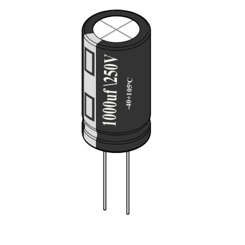 1000uF / 250V Electrolytic Capacitor