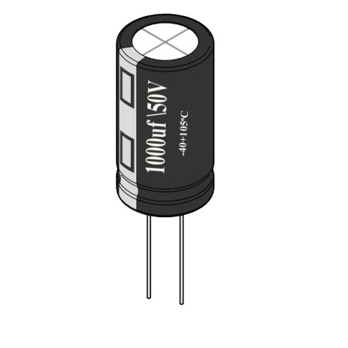 1000uF / 50V Electrolytic Capacitor