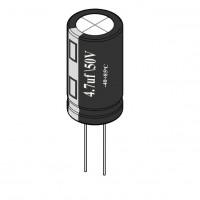 4.7uF / 50V Electrolytic Capacitor