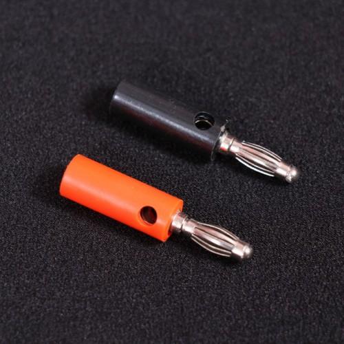 Banana Plug  4mm Pair (Black & Red)