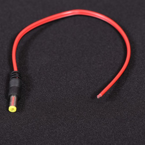 Male DC Power Jack Wire Cable- EE753-DC11R5