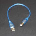 USB 2.0 A-B Male Cable 0.3Meter -EE2424-DC9R4