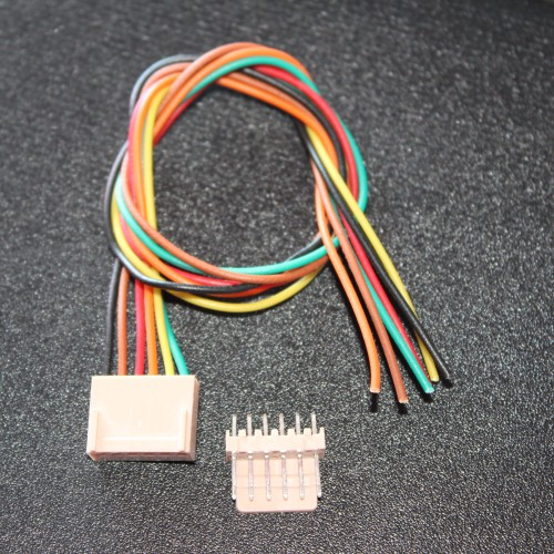 6 Pin RMC Cable & Polarized Connectors -EE2405 - DC12R5