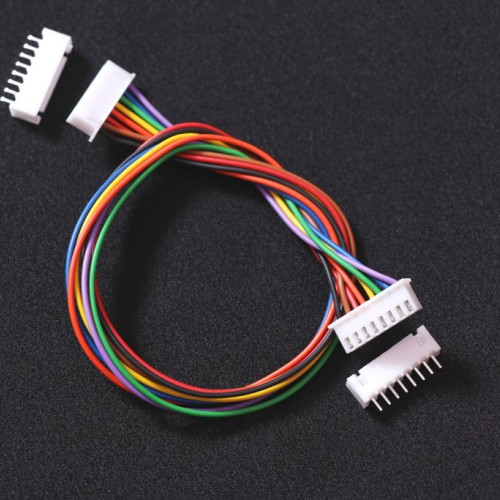 8 PIN RMC CABLE FEMALE TO FEMALE  WITH MALE POLARIZED CONNECTORS -EE2417 -DC11R1