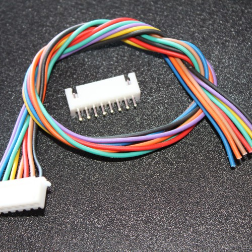 8 Pin RMC Cable & Polarized Connectors -EE2406 - DC12R6
