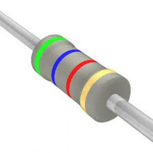 5.6k Ohms Carbon Film Resistor- 1/4 W(5 Per Pack)-EE112-L4R2