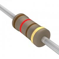 120 Ohms Carbon Film Resistor- 1/4 W (5 Per Pack)-EE103-I2R3