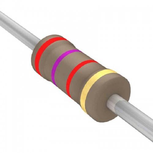 2.7 Kilo Ohm Carbon Film Resistor- 1/4 W(5 Per Pack)-EE135-I9R1