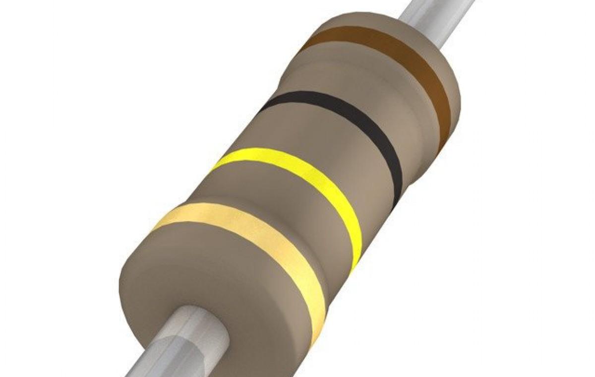 100 Kilo Ohm Carbon Film Resistor- 1/4 W(5 Per Pack)-EE138-I6R3