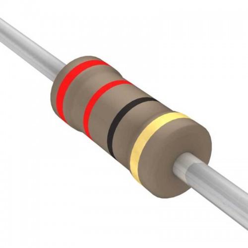 22 Ohm Carbon Film Resistor- 1/4 W(5 Per Pack)-EE139-I1R4