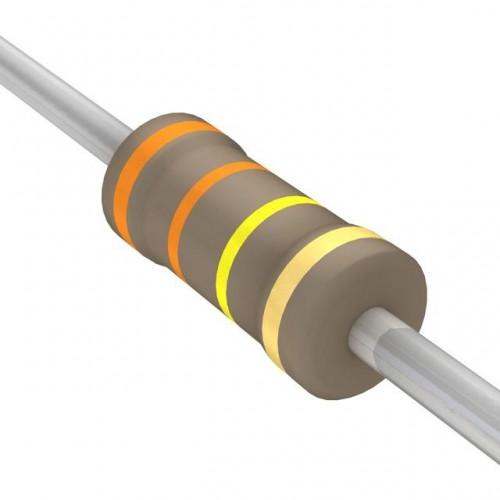 330k Ohms Carbon Film Resistor- 1/4 W(5 Per Pack)-EE128-I7R1