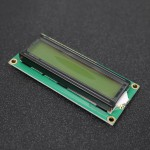 16x2 LCM Character LCD Display (Yellow Backlight) - EE802-DC9R1