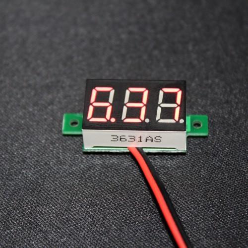 Mini Digital DC Voltmeter 3-30V