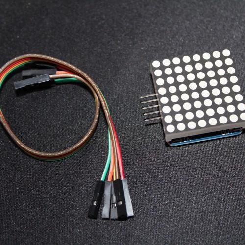 MAX7219 8x8 Matrix Display Module - Red Dot-EE812-Q2