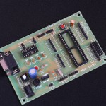 8051 Development Board+MAX232(With out Chip)-EE1901-DC5R5