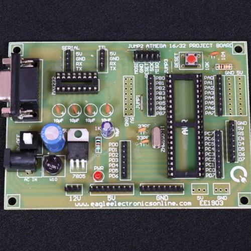 40 PIN AVR Development Board -EE1903-DC5R3