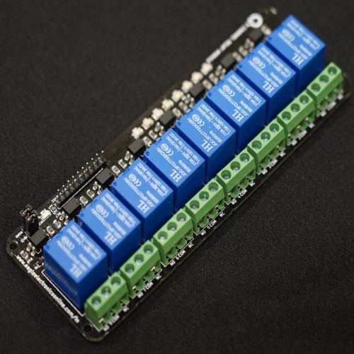 8 Channel 5V Relay Module with Optocoupler-EE2010-BC2R3