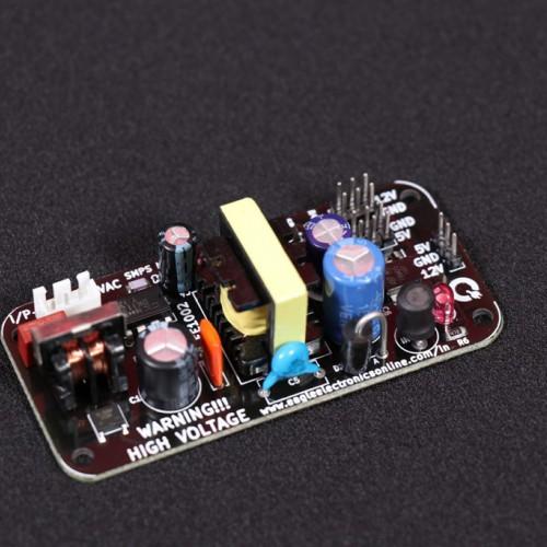 12V 1000mA \ 5V 500mA AC-DC module 220V to 12V / 5V Isolated Switching Power Supply Module