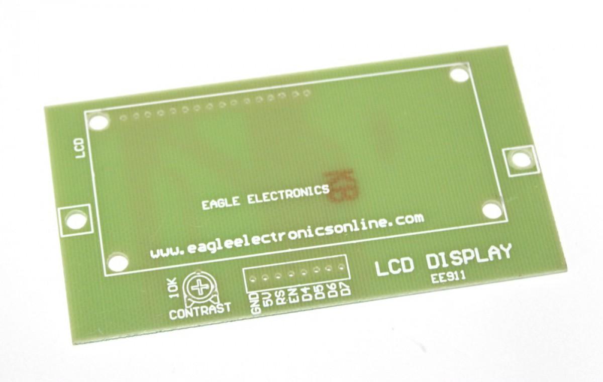 LCD 4 Bit Breakout PCB